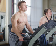 Two young athlete Royalty Free Stock Photography