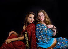 Two young and beauty  girl Stock Photography