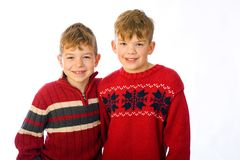 Two young boys Stock Photography