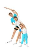 Two young boys brothers and little sister Royalty Free Stock Photo