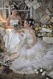 Two Young Brides Stock Photos