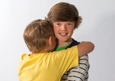 Two Young Brothers Royalty Free Stock Photo