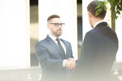 Agreement of businessmen Royalty Free Stock Image
