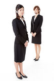 Two young business people Stock Image