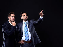 Two young businessman Stock Image