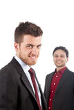 Two young businessmen Stock Images