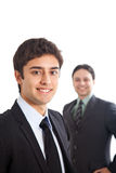 Two young businessmen Stock Image