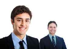 Two young businessmen Royalty Free Stock Photography