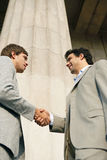Businessmen shaking hands. Stock Photo