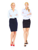 Two young businesswoman Royalty Free Stock Image