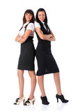 Two young businesswomen Royalty Free Stock Photography