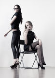 Two young businesswomen Stock Photo