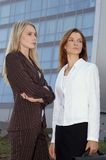 Two young businesswomen 5 Stock Images
