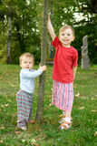 Two young children Stock Photography