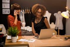 Fashion designers Royalty Free Stock Image