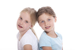 Two young female friends Royalty Free Stock Photography