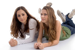 Free Two Young Friends Posing At Camera Stock Image - 7026171