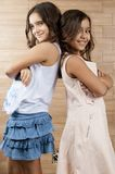 Two young girls Royalty Free Stock Photography