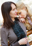 Two young girls Stock Photography