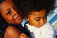 Two Young Kids Together Royalty Free Stock Image