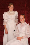 Two young ladies Royalty Free Stock Images
