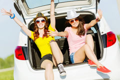 Two young ladies Stock Images
