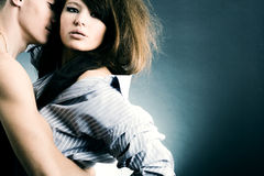 Two young lovers Stock Photo