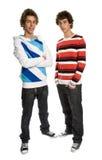 Two young men Stock Photos