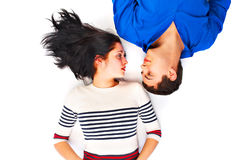 Two young people Royalty Free Stock Photo