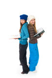 The two young students Royalty Free Stock Photography