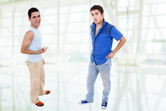Two young teenagers Royalty Free Stock Image