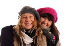 Two young woman Royalty Free Stock Photo