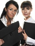Two young woman Stock Photography