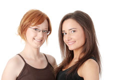 Two young womans Royalty Free Stock Photo