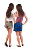 Two young  women friend. Royalty Free Stock Images