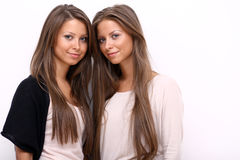 Two young women Royalty Free Stock Photos