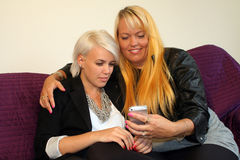 Two young women Royalty Free Stock Photo