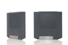 Two zip disks Royalty Free Stock Image