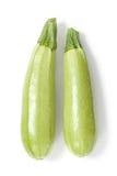 Two Zucchini Stock Photos