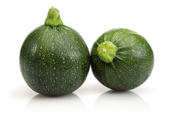 Two Zucchini Royalty Free Stock Photography