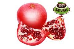 Twopomegranate/chemin Photo stock