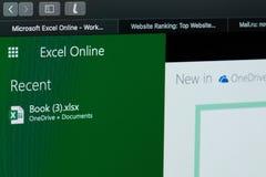 Tworzący Microsoft przoduje dokument zdjęcia royalty free