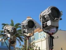 tworzący używać lampa film Zdjęcie Stock