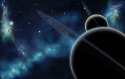 tworzący cyfrowy starfield Fotografia Stock