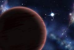 tworzący cyfrowy starfield Fotografia Royalty Free