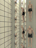 tworzenia istoty ludzkiej lab Zdjęcie Stock