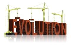 tworzenia projekta ewoluci bóg inteligentny Zdjęcia Royalty Free