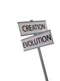 tworzenie ewolucja Obrazy Royalty Free