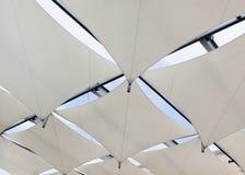 tworzy żagla dachowego cień Obraz Stock