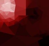 Tworzy czerwonego wieloboka royalty ilustracja